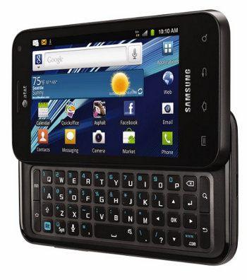Samsung presenta dos nuevos móviles, el Captivate Glide y el DoubleTime