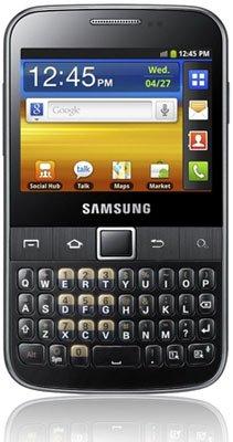 Samsung presenta nuevo smartphone, el Galaxy Y Pro