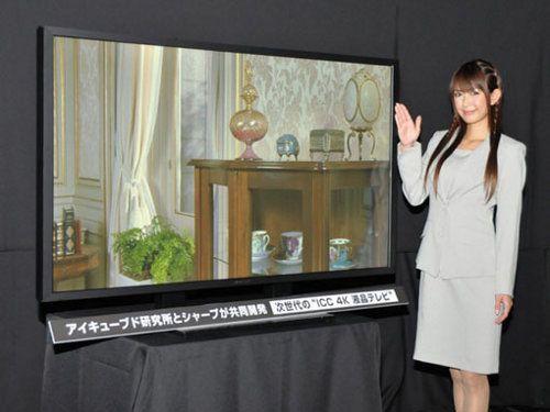 Sharp lanzará una TV de 60 pulgadas y enorme resolución en 2012
