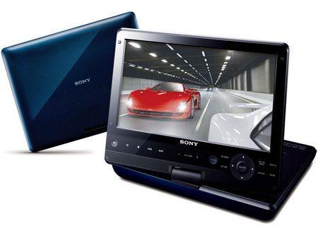 Sony presenta un reproductor portátil de Blu-ray/DVD de 10,1 pulgadas