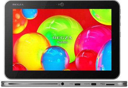Toshiba presenta el tablet más liviano y delgado del mundo