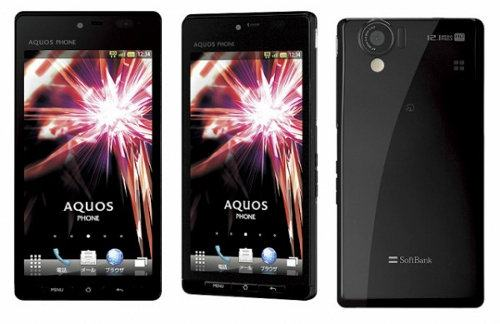 Un vistazo al Sharp Aquos Phone 102SH