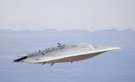 X-47B, el nuevo avión no tripulado de la Marina estadounidense