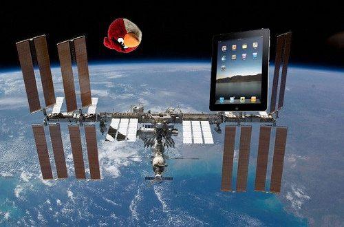 iPads y juguetes de Angry Birds serán enviados al espacio