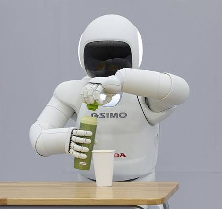 ASIMO, el nuevo robot humanoide inteligente de Honda