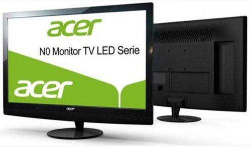 Acer N230HML, nuevo monitor LCD con sintonizador de TV