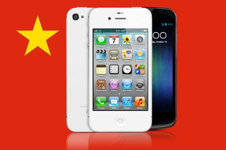 El mercado chino de smartphones supera al estadounidense