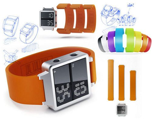 Integralus, un reloj digital fuera de lo común
