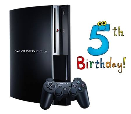 La PlayStation 3 celebra su quinto aniversario