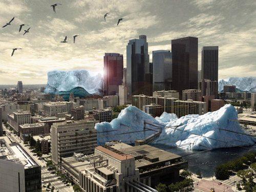 Mongolia quiere usar glaciares artificiales durante el verano