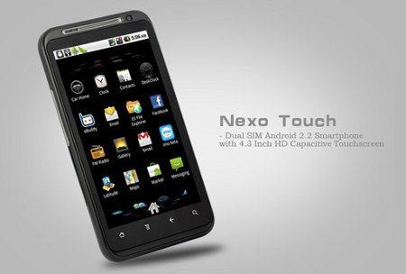 Nexo Touch, nuevo smartphone Android con dual SIM