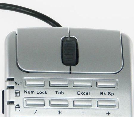 Nuevo mouse con teclado numérico