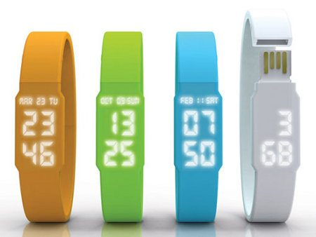 Nuevo reloj USB conceptual