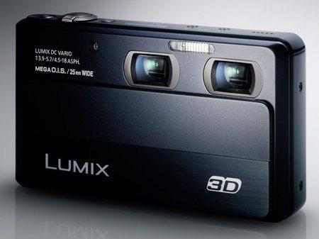Panasonic Lumix DMC-3D1, cámara con dos sensores de 12 megapíxeles