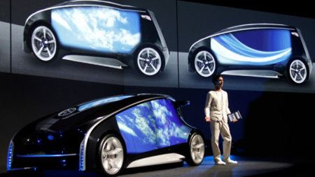 Toyota Fun-Vii, el smartphone sobre 4 ruedas