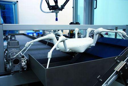 Una araña robot capaz de llegar a donde ningún hombre ha llegado