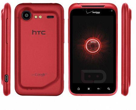Verizon lanzará el HTC Droid Incredible 2 en color rojo