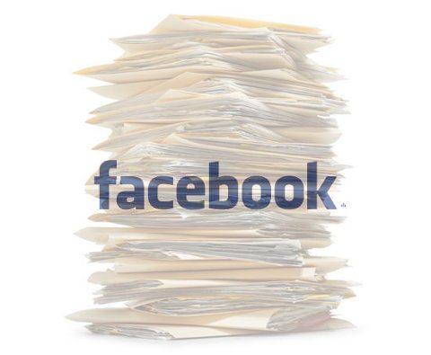 Facebook envía a un joven un disco con 1222 PDFs que contienen todo sobre su perfil