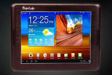 Funtab 9.1 Fantasy, el tablet Android más liviano del mundo