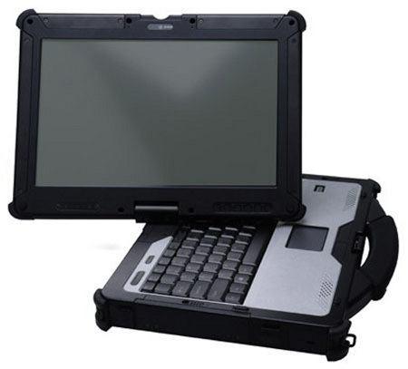 GammaTech Durabook R13C, nueva laptop convertible de alta resistencia