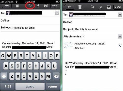 Gmail para iPhone y iPad es actualizado, ahora podemos enviar garabatos