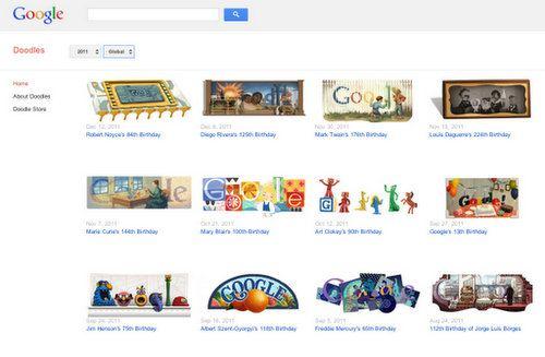 Google mejora su página de Doodles
