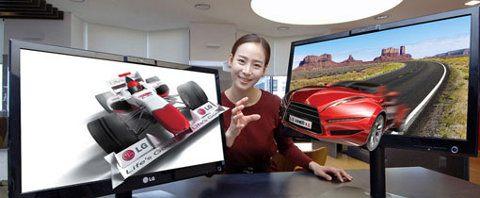 LG DX2500, nuevos monitores 3D que no requieren lentes