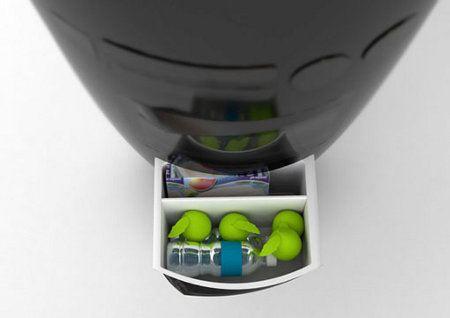 Minicocina conceptual para apartamentos pequeños4