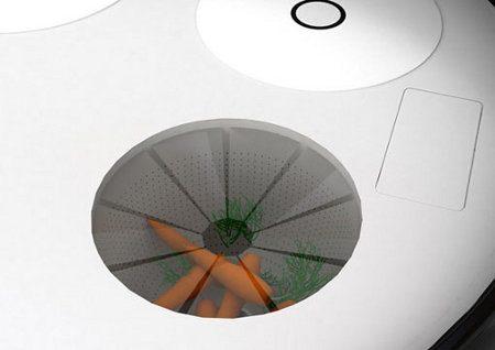 Minicocina conceptual para apartamentos pequeños5