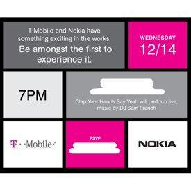 Nokia y T-Mobile preparan un evento para el 14 de diciembre