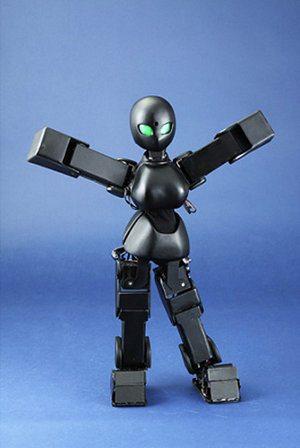 Pequeño robot alienígena capaz de hacer movimientos seductivos