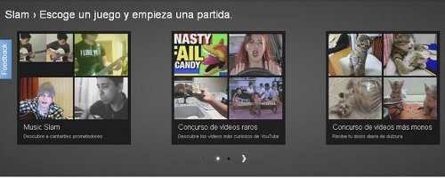 Slam, los duelos de YouTube