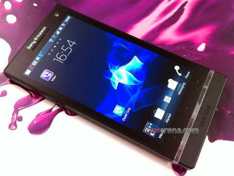 Sony Ericsson Xperia Arc HD, primeras fotos