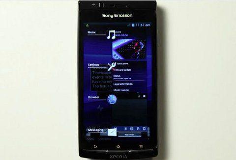 Sony Ericsson anuncia detalles de la actualización a Android 4.0 Ice Cream Sandwich