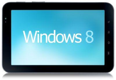 Acer y Lenovo lanzarán tablets con Windows 8