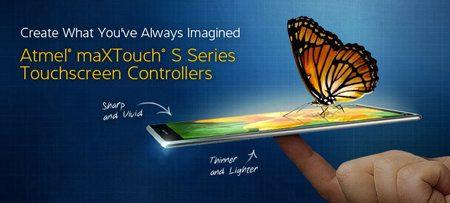 Atmel maXTouch S, nueva tecnología para reducir el grosor de los dispositivos
