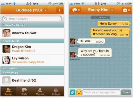 ChatON llega a la App Store
