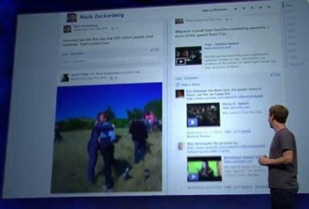 Facebook lanza 60 aplicaciones para la Biografía