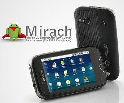 Mirach, nuevo smarpthone Android con dual-SIM