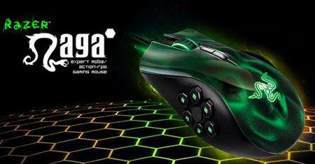 Razer Naga Hex, nuevo mouse de alta precisión