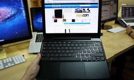 Samsung revela una Chromebook con procesador Intel Celeron