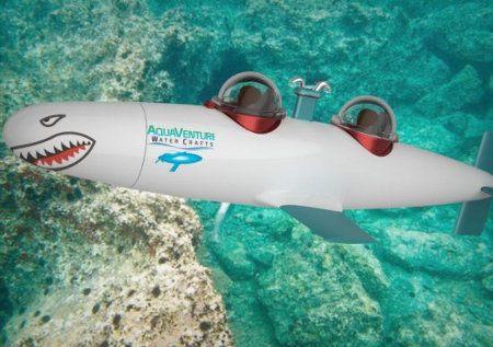 SeaBird, un submarino personal que viaja a 65 kilómetros por hora