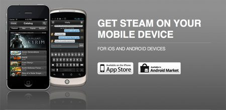 Valve lanza Steam para smartphones