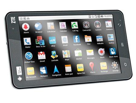 ZTE V66, nuevo tablet Android con 4G