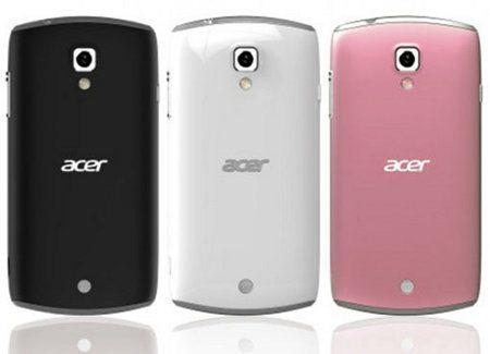 Acer Liquid Glow, nuevo smartphone con Android 4.0