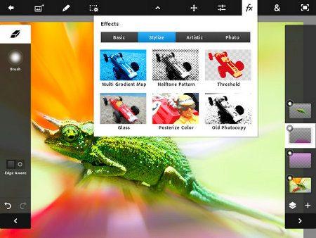 Adobe Photoshop Touch llega al iPad