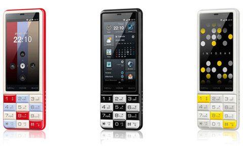 KDDI INFOBAR C01, una smartphone bastante llamativo