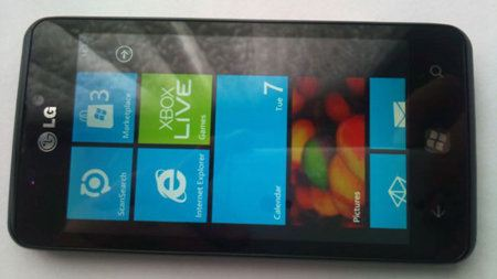 LG Miracle, un nuevo móvil Windows Phone