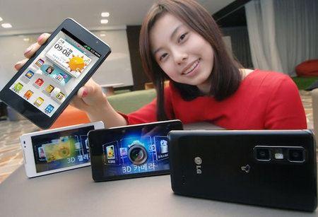 LG Optimus 3D Cube, el primer móvil del mundo que puede editar videos 3D