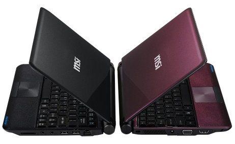 MSI Wind U180, nueva netbook con procesador Intel Cedar Trail